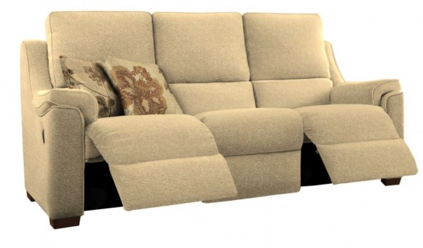 Albany 3 Seater Double Manual Recliner