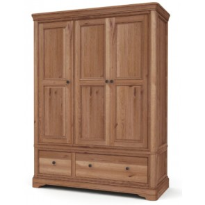 Auvergne 3 Door Wardrobe