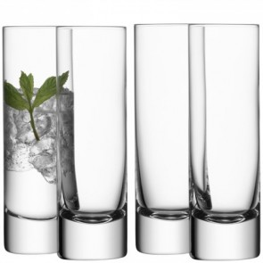 LSA Bar Long Drink Glasses (Set Of 4)