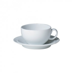 Denby White Tea Saucer