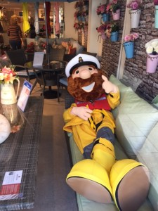 Stormy Stan Comes To Visit Rnli Gillies
