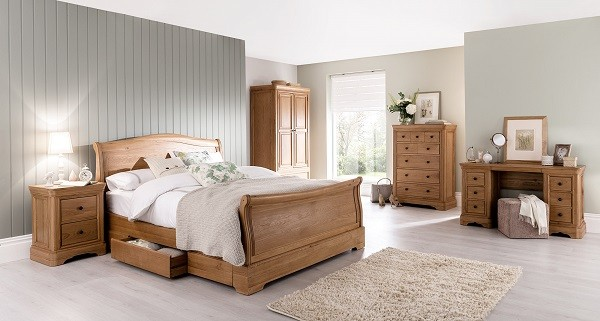 Auvergne Bedframe Gillies - Gillies bedroom furniture