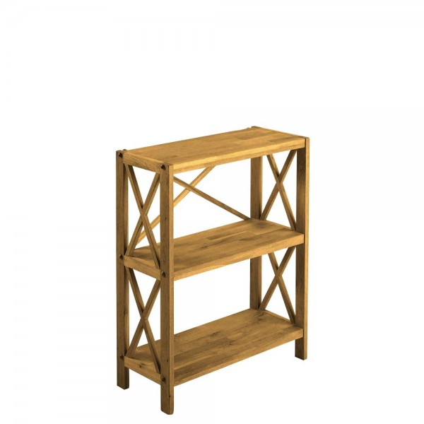 Royal Oak 3 Shelf Bookcase