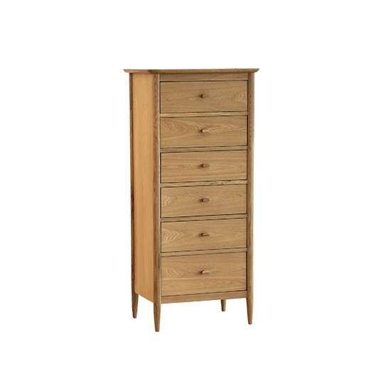 Ercol 2685 Teramo 6 Drawer Tall Chest