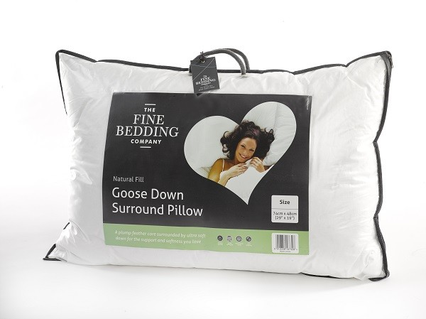 Goose Down Surround Pillow