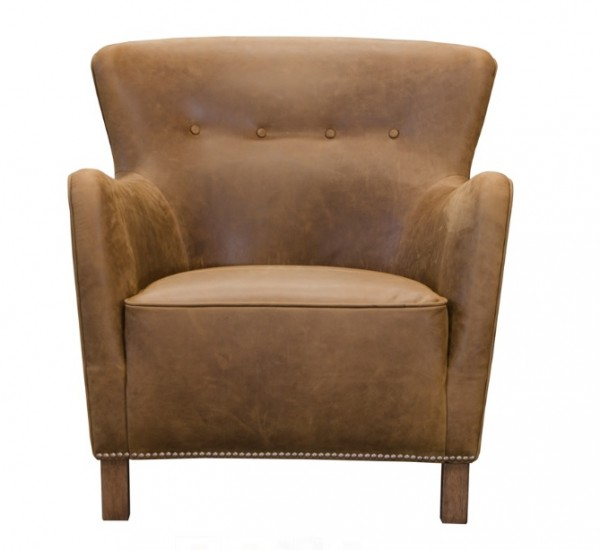Stockholm Accent Chair - Leather