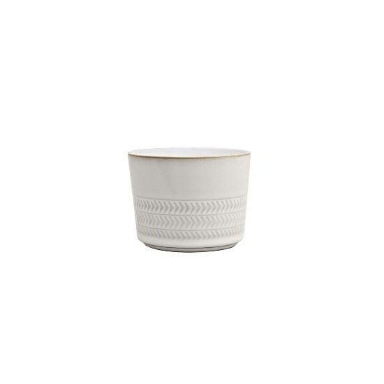 Denby Natural Canvas Textured Sugar Bowl