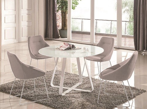 Kendall Round Dining Table 4 Chairs