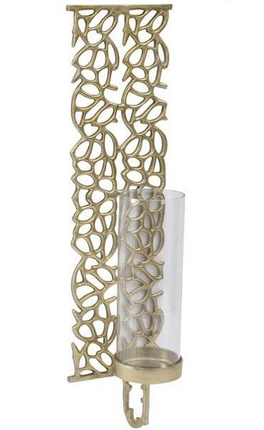 Coral Cage Large Gold Wall Sconce