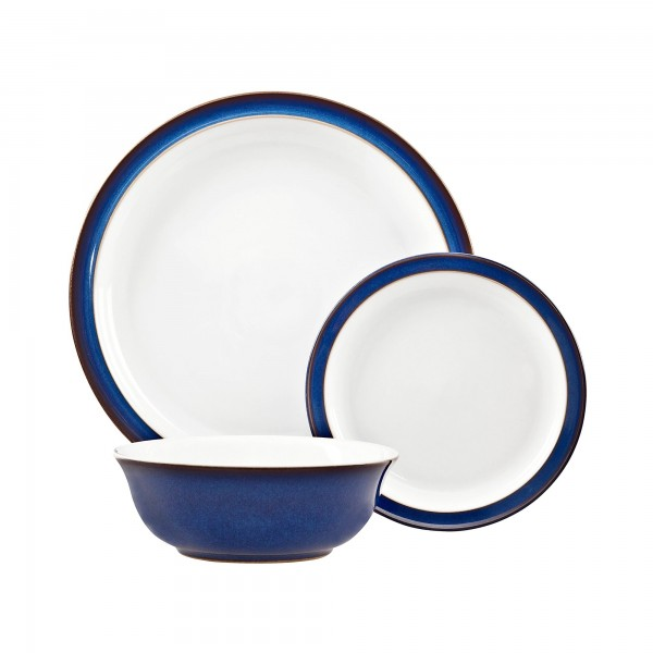 Denby Imperial Blue 12 Piece Tableware