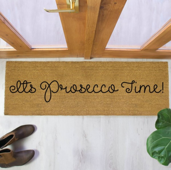 Prosecco Time Long Doormat