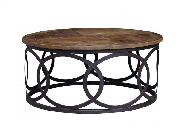 Hudson Bay Round Coffee Table