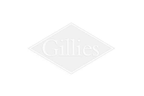 Miro Square Grey & Nickel Table Clock