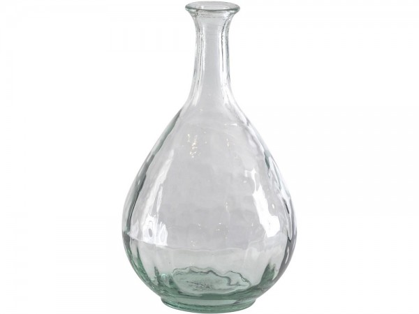 Recycled Glass Small Teardrop Vase