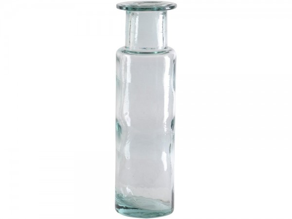 Recycled Glass Small Bottle Vase