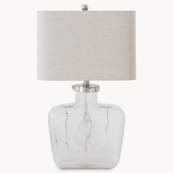 Clifton Square Glass Lamp