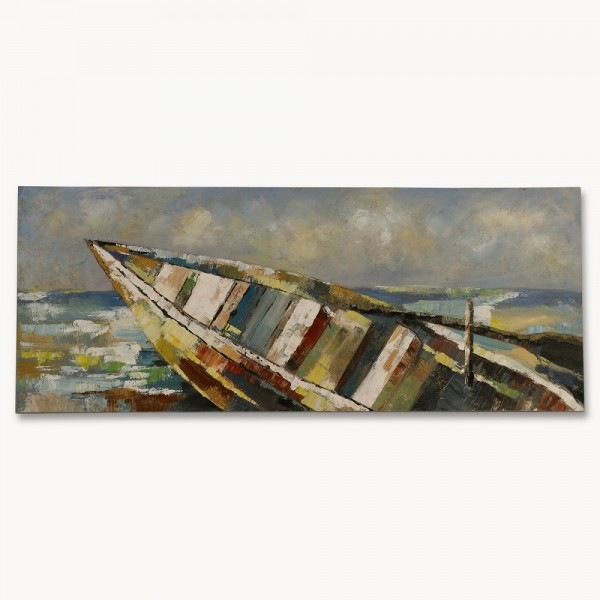 Sedgefield Landscape Row Boat Bow View