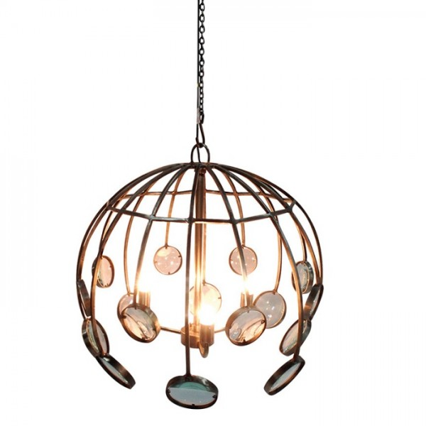 Galaxy Round Magnifying Chandelier