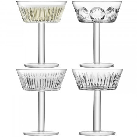 Tatra Champagne/Cocktail Glass Set of 4