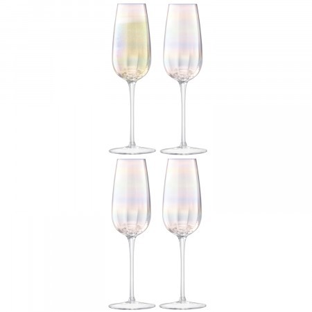 LSA Pearl Champagne Flute (Set of 4)