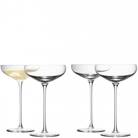 LSA Wine Champagne Saucer (Set of 4)