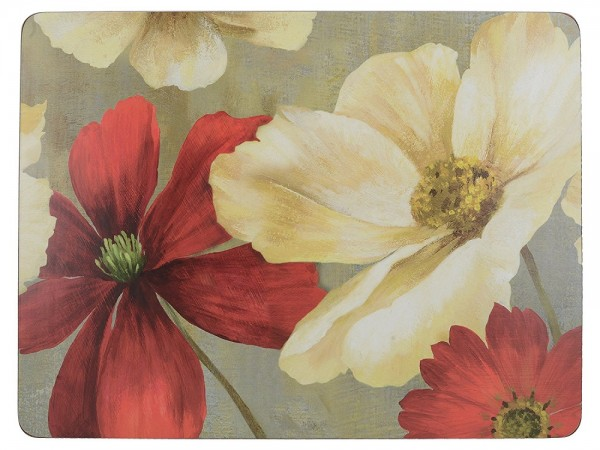 Flower Study Placemats Set of 6