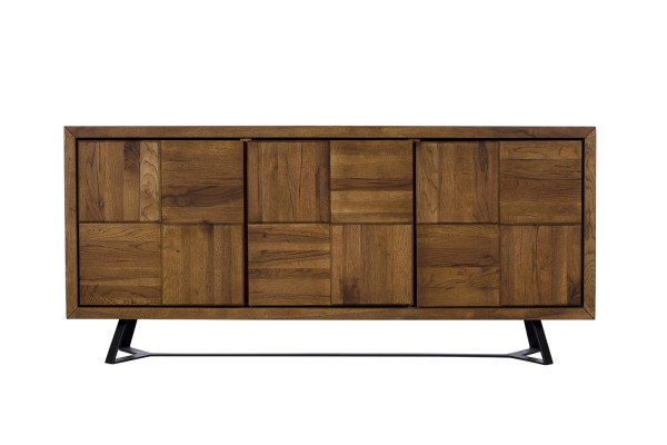 Toledo Wide Sideboard Marquetry Front