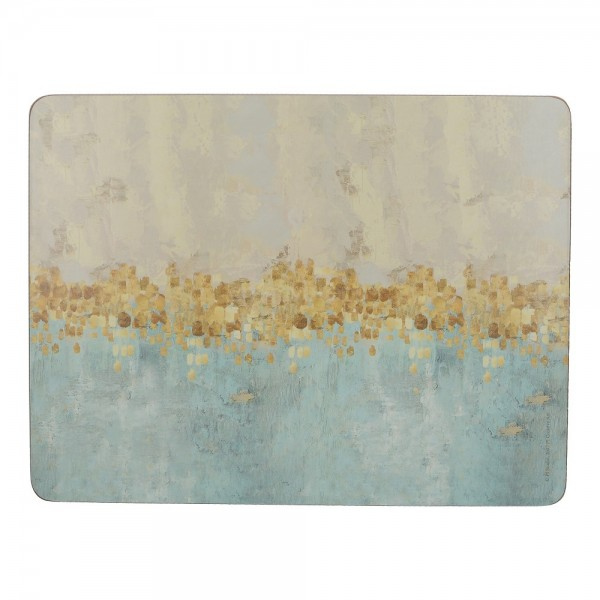Golden Reflections Placemats Set of 6