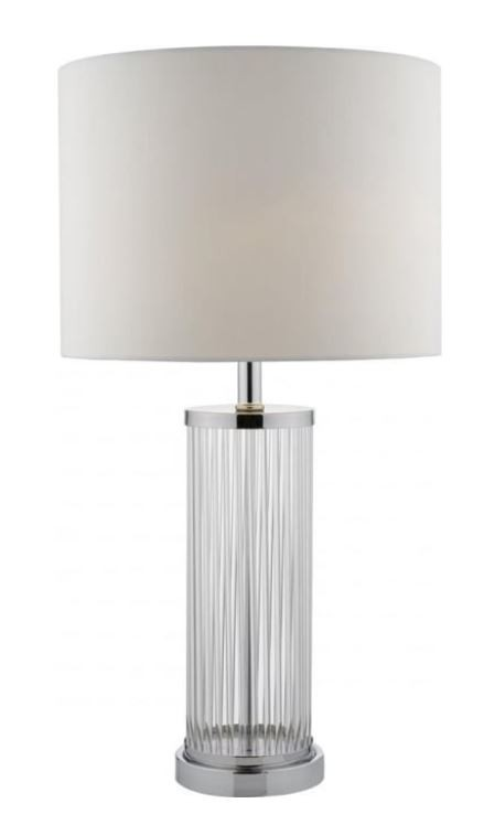 Olalla Polished Chrome Table Lamp