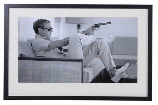 Steve McQueen Takes Aim