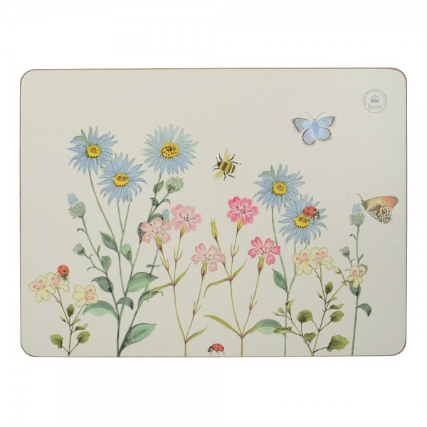 Kew Meadow Bugs Placemats Set of 6