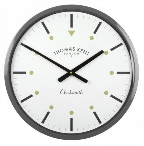 Clocksmith Wall Clock Slate