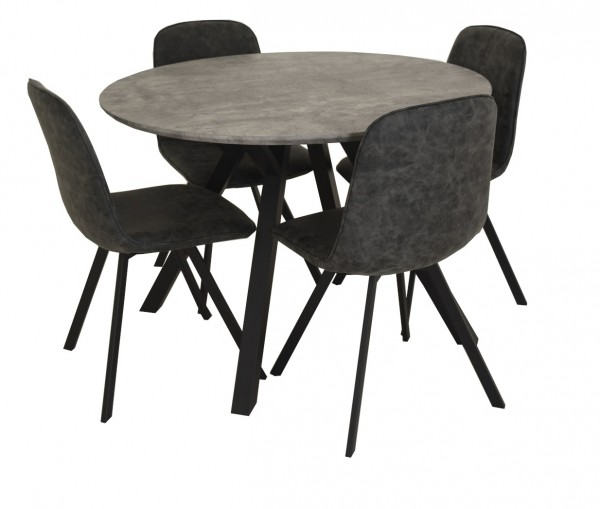 Technique Round Dining Table Set