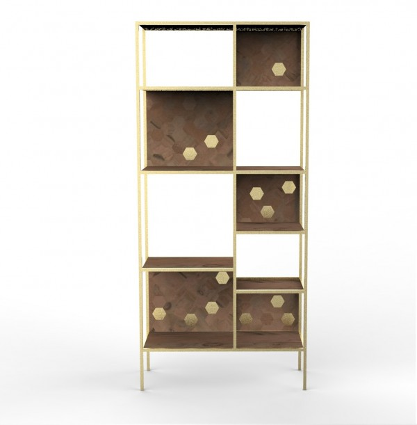 Jaipur Tall Bookcase