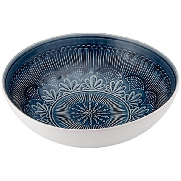 Nadia Navy Salad Bowl