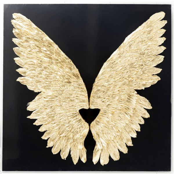 Wings - Gold & Black