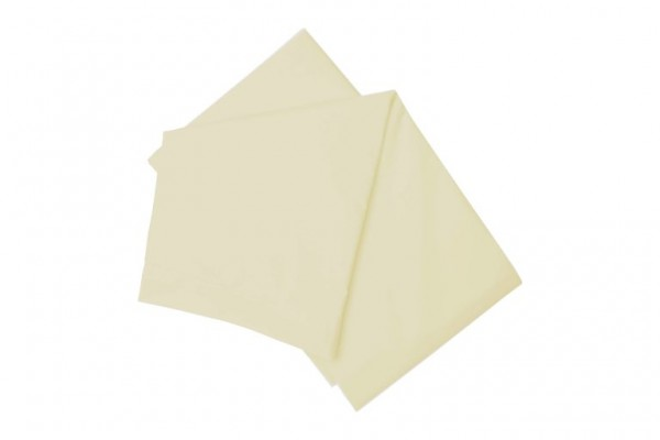 Cotton Polyester Flat Sheet - Ivory