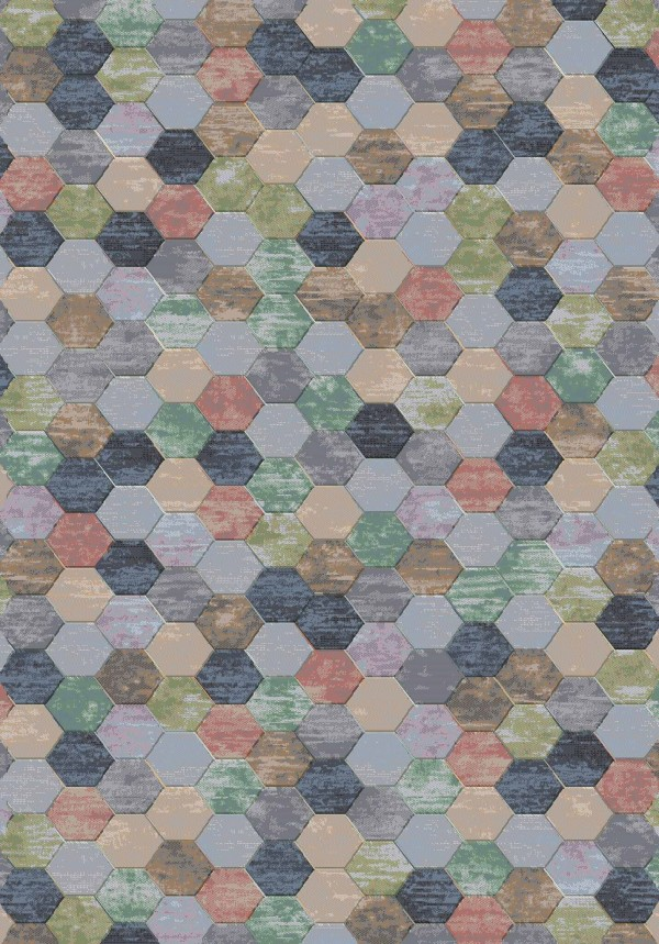 Galleria Lilac Hexagon