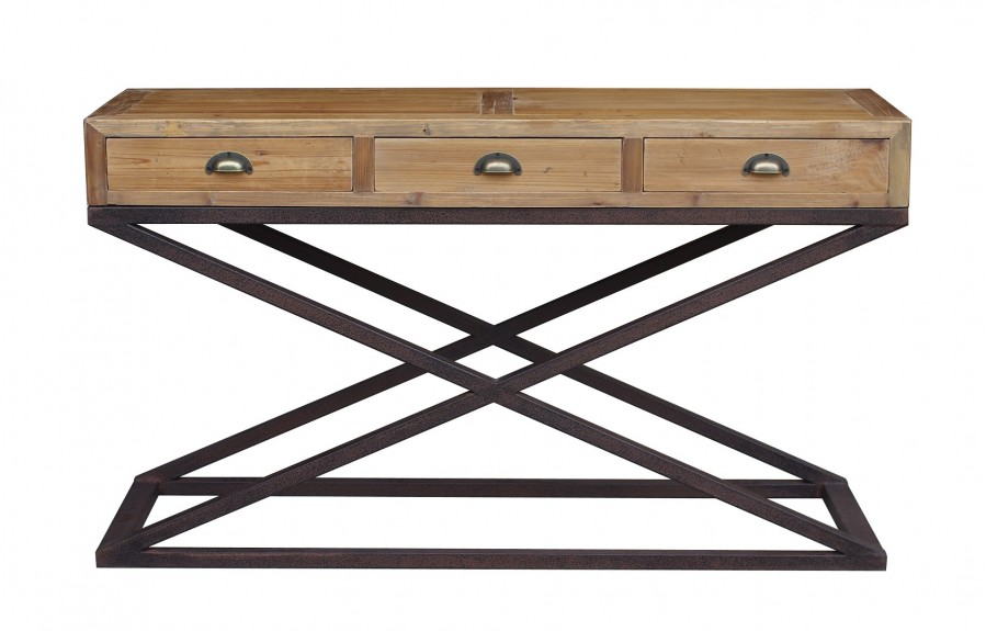 Stupendous Hudson Bay 3 Drawer Console Table Interior Design Ideas Oxytryabchikinfo