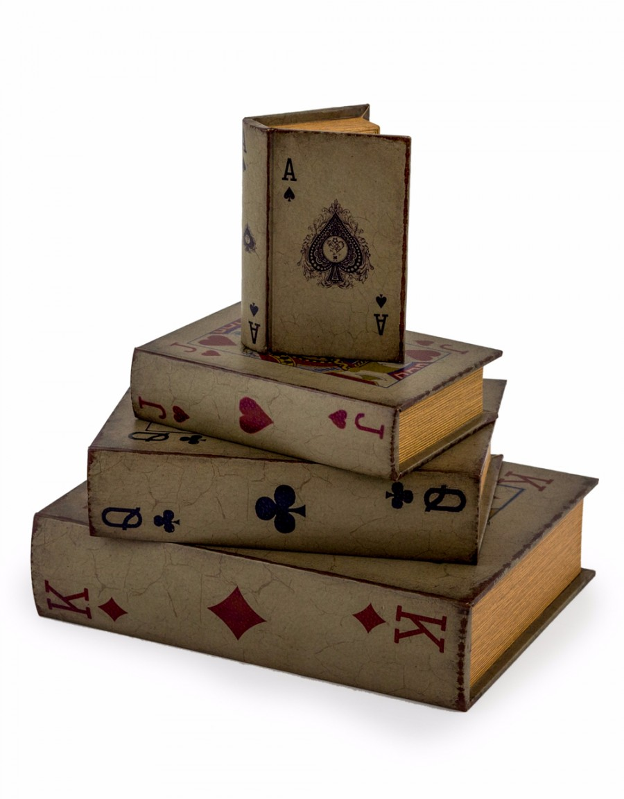 Antique Playing Card Storage Boxes Gillies