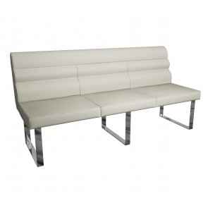 Silverwood Bench with Back