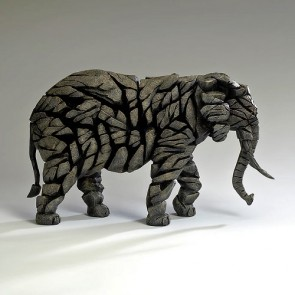 Elephant Edge Sculpture - Mocha
