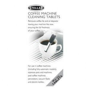 Stellar Coffee Machine Cleaning Tablets