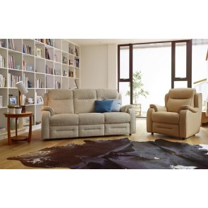 Boston 3 Seater Double Manual Recliner
