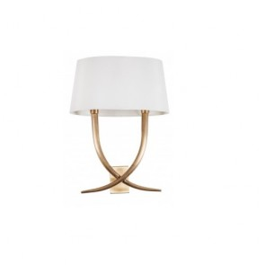 Iva Antiqued Brass Table Lamp