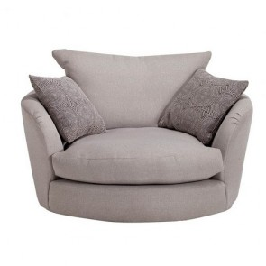 Strand Swivel Cuddler Chair