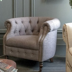 Jude Fabric Accent Chair