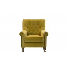 Sofia Velour Accent Chair