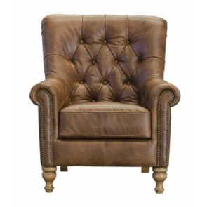 Sofia Leather Accent Chair