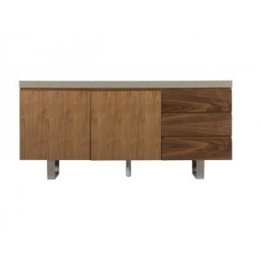 City/Concrete Wide Sideboard